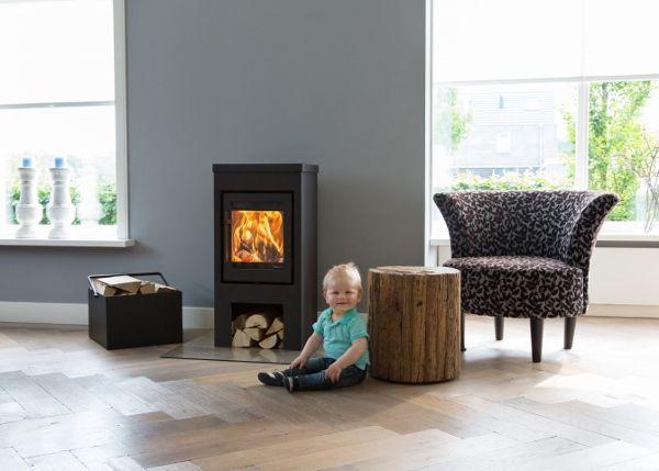 Flores 6 vrijstaande kachel - Product in beeld - Startpagina voor sfeerverwarmnings ideeën | UW-haard.nl