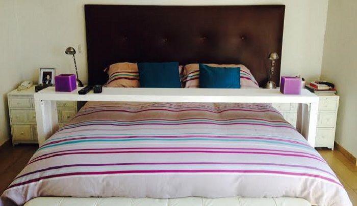 Mi propia mesa de cama: barata, fácil de construir y muy práctica!