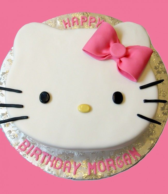 Hello Kitty Cake for Jilly's 7th Birthday.
