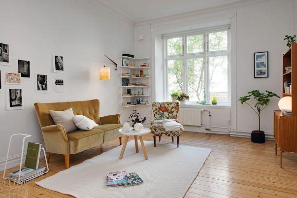 Decorando un monoambiente con muebles vintage 3