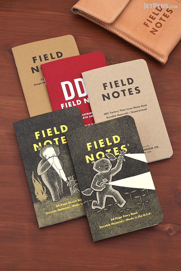 Two more Field Notes Memo Books Editions are here: the 10th Anniversary 3-pack and the illustrated Haxley 2-pack.