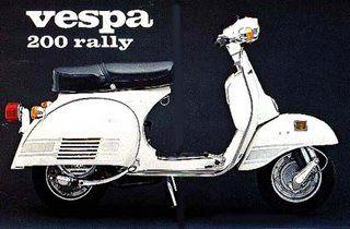 Vespa 200 Rally. One of the best they ever made. https://ianneateblog.wordpress.com/