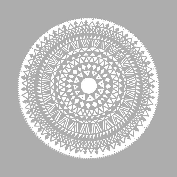 grey, mandala, ethnic, ethno, east, round, boho, hippie, style, pattern, circle, triangles