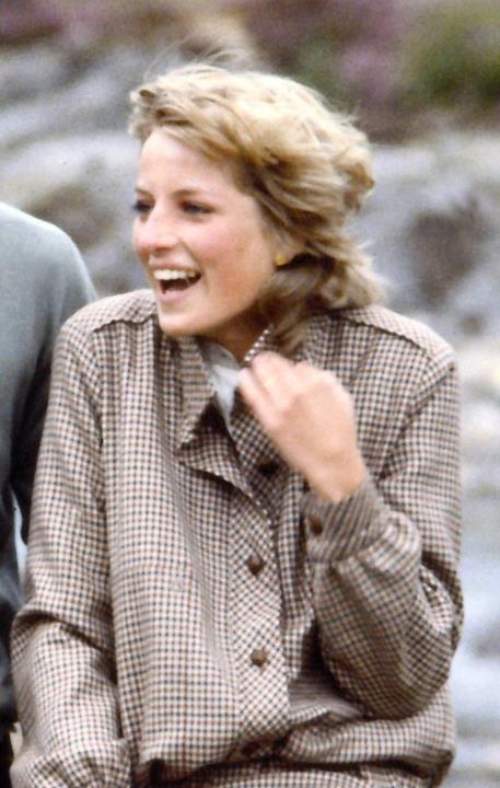 August 19, 1981: Prince Charles & Princess Diana honeymooning at Balmoral, Scotland