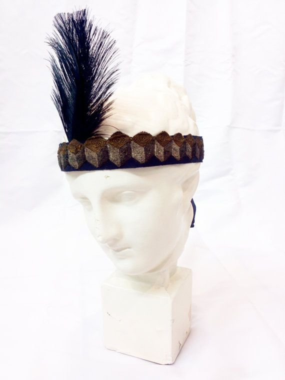 1920s headband // 20s headband // 1920s by Beautiful0Things, $250.00