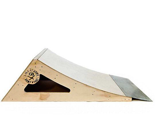 Cool gifts for skateboarders: Build-at-home pro skate ramp kit
