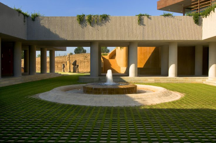 Wine cellar,Winery,Bodegas Torres, spain,http://bcarquitectos.com/wineries/waltraud-cellar-for-bodegas-torres-spain/,Atrium wine,wineries,spain wineries,landscape,bodegas,spirits,miguel Torres,arquitectura bodegas,wineries architecture,winery landscape