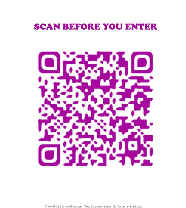 No Boys Allowed Scan before you Enter Girls Door Sign http://www.kidscanhavefun.com/qr-codes-for-kids.htm #qrcode #doorsign #scanme