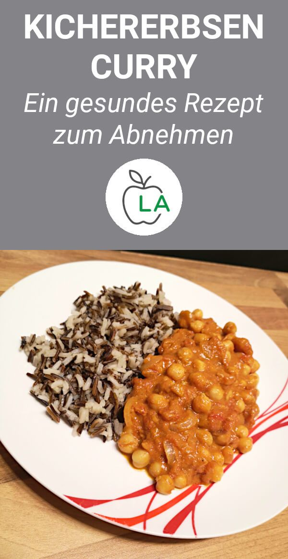 Kichererbsen Curry – Leckeres Rezept zum Abnehmen