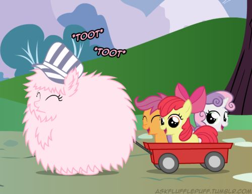 Fluffle puff and the cutie mark crusaders