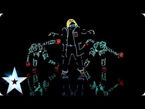 Light Balance are switched on | Britain's Got Talent 2014 - YouTube