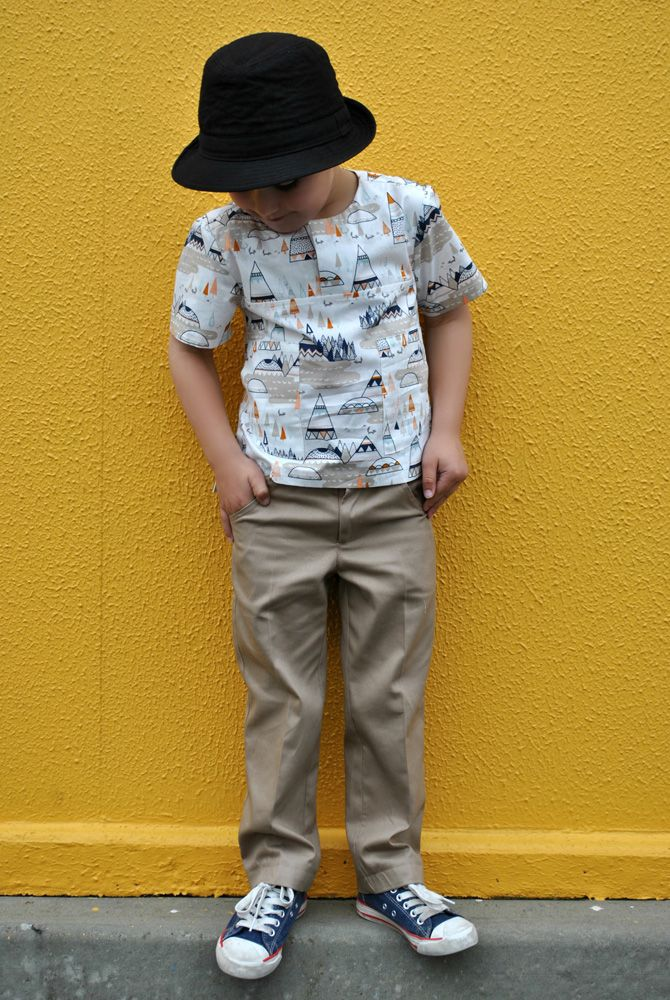 Slim Jims in size 4 with Kieran Shirt http://www.felicitysewingpatterns.com/product/slim-jim-pants-boys-separate-shorts-pattern-classic-casual-great-look-boys-or-girls-2-12-y-1?tid=2