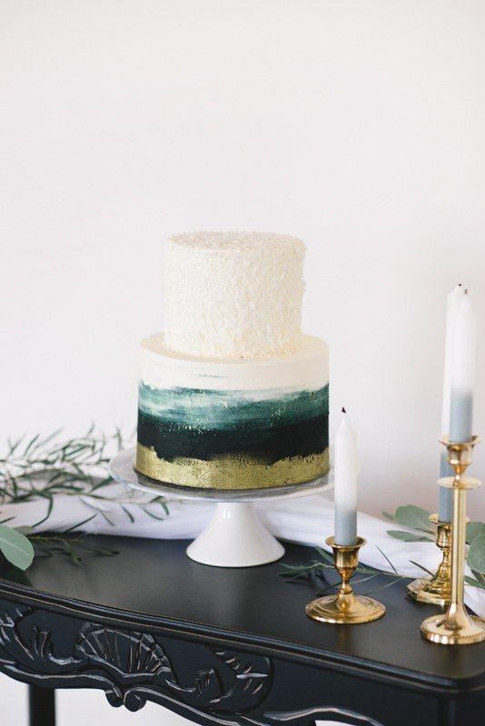 30 moderne Hochzeitstorte Ideen | Bräute   – Wedding Cakes/Desserts