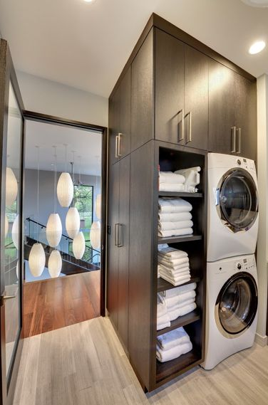 keep linens in laundry room?