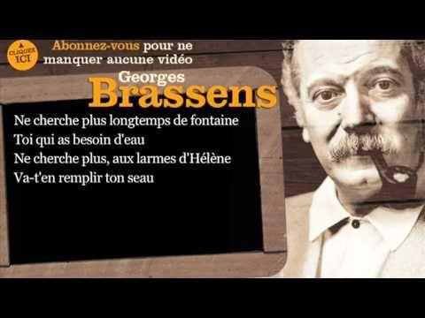 Le Web Journal de Maurice Victor Vial: LA BELLE CHANSON - Georges Brassens - Les sabots d...