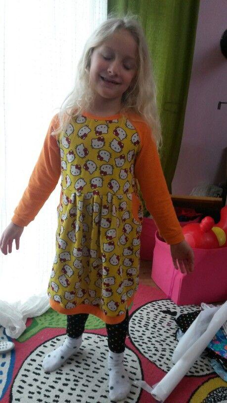 China Girl aus der Ottobre, leggins nach Hilli Hiltrud