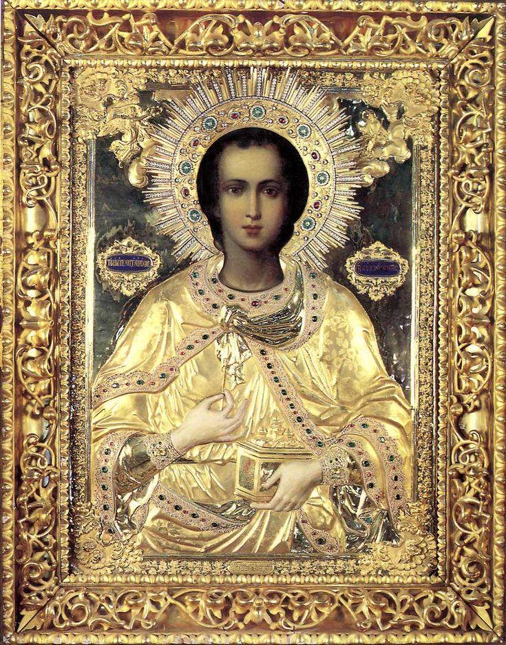 святой пантелеймон картинки честь