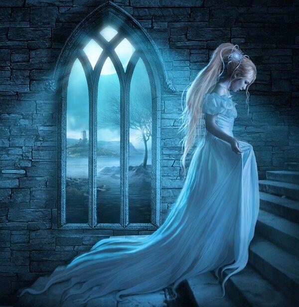 замок и ведьма картинки арт шпангоуты выполнены