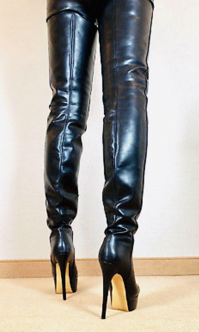 Pin by Piotr Kreis on Kozaki in 2019 | Thigh high boots