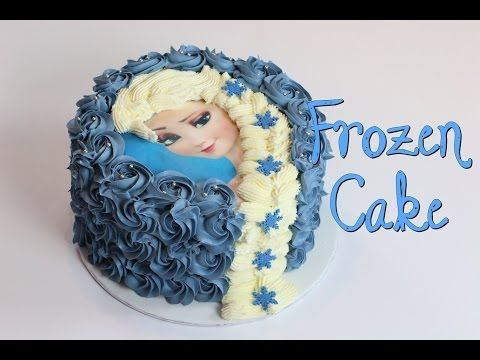 Décorer un gâteau Reine des Neiges : Elsa et sa belle tresse - La Folie des Fêtes