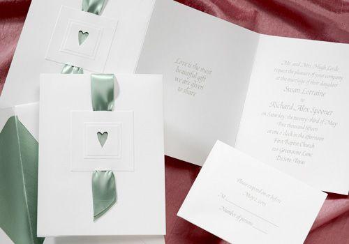 Ribbon Wedding Invitations By Habesha Wedding Cards