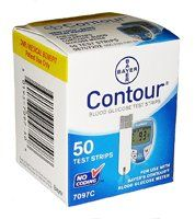 Bayer Contour Test Strips 1200Ct Nfrs Case (24 boxes of 50)