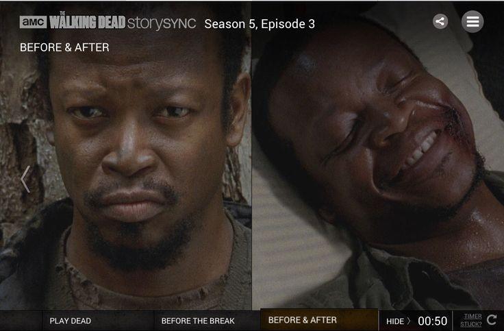 RIPBob. The Walking Dead. Air date: 10.24.2014