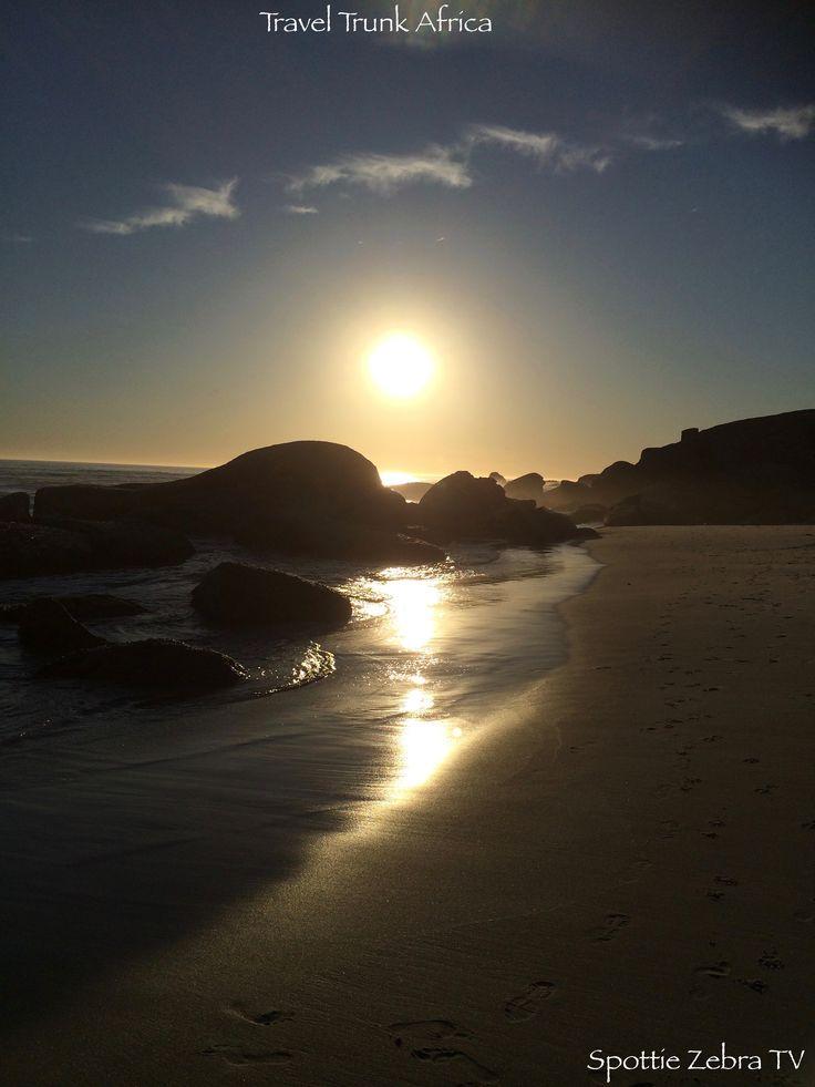 Sunset - Glen Beach, Camps Bay.