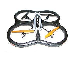 X30V UFO - RC Quadrocopter 2.4Ghz 4-Kanal mit Kamera (inkl.)