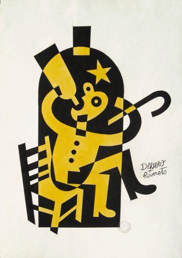 Fortunato Depero (March 30, 1892 – November 29, 1960)