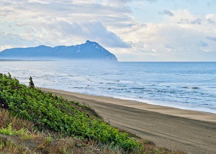 Vista del litorale di Battipaglia