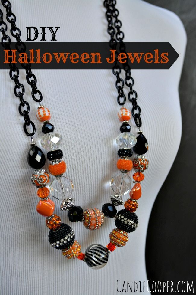 DIY Halloween Party Jewelry