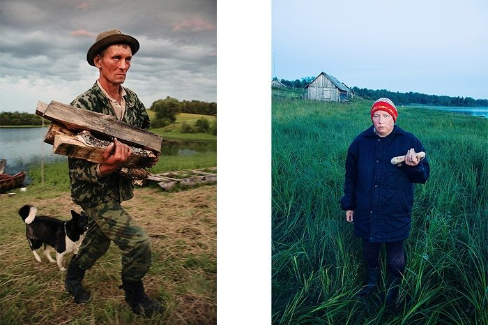 SÉRIE KENOZERO DREAMS. VALENTIN IS WORKING AS A FORESTER IN KENOZERO, 2008 © Oksana Yushko | L'insensé Photo Russie #photography #photographie #russie