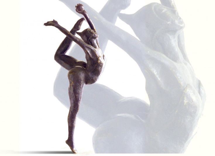 bronzen sculptuur Caren Simon