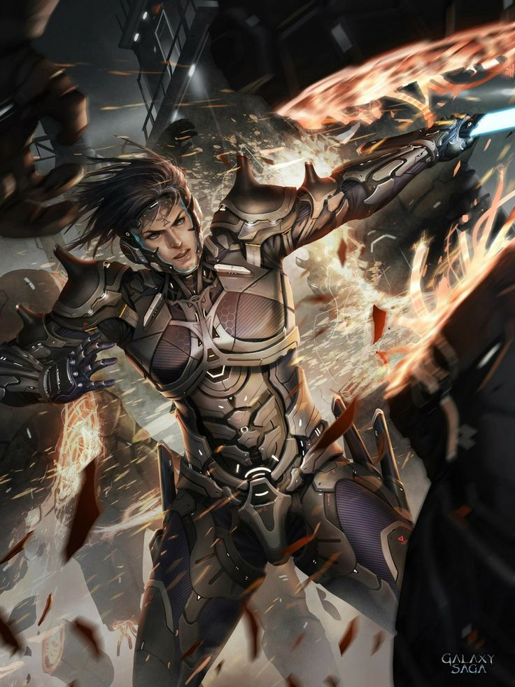 Artist: Chris Ng aka chrisnfy85 - Title: Sword Fighter Ares reg - Card: Ares…