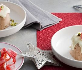 Easy Christmas Ice Cream Puddings: This decadent Ice Cream Pudding will be the sweetest way to cool down this summer. http://www.bakers-corner.com.au/recipes/ice-cream/easy-christmas-ice-cream-puddings/
