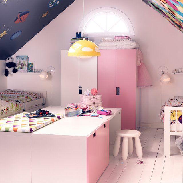 Les 20 meilleures id es de la cat gorie petites chambres d 39 adolescent sur - Amenager une chambre pour 2 filles ...