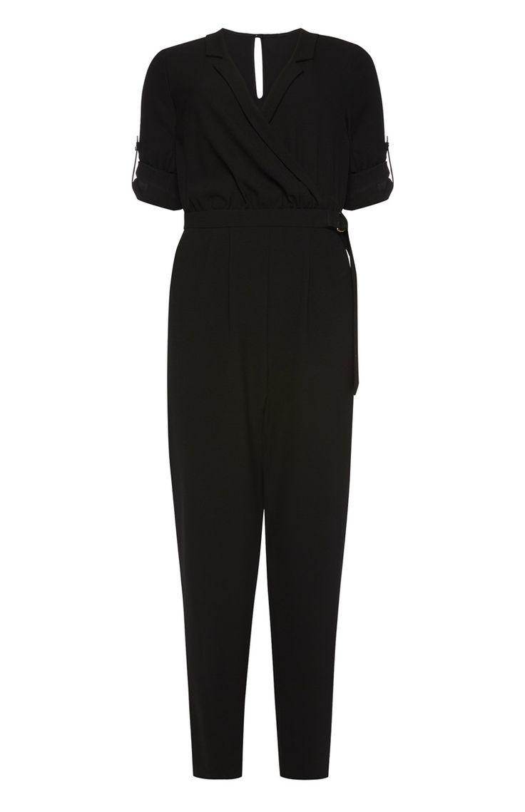 die besten 25 jumpsuit schwarz ideen auf pinterest. Black Bedroom Furniture Sets. Home Design Ideas