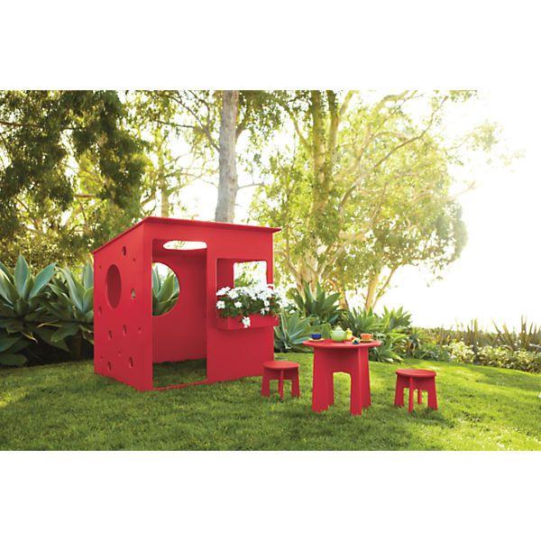 Loki Kidsu0027 Indoor Outdoor Playhouse Set   Modern Outdoor Kids Furniture    Modern Outdoor