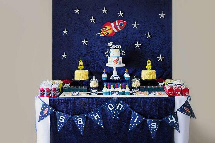 Saxon's 4th Birthday | CatchMyParty.com