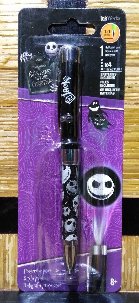 Nightmare Before Christmas Jack Skellington Ballpoint Pen
