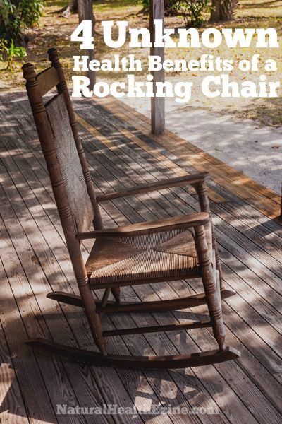 Did you know there are Health Benefits of A Rocking Chair? All ages can benefit from rocking in a rocking chair.
