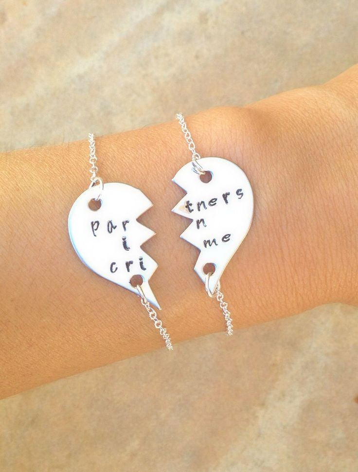 partners in crime partners in crime bracelet by natashaaloha, $49.00