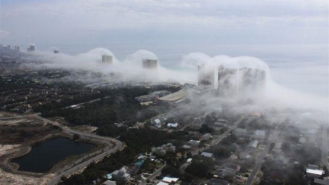 Tsunami Cloud Hits Panama City Beach