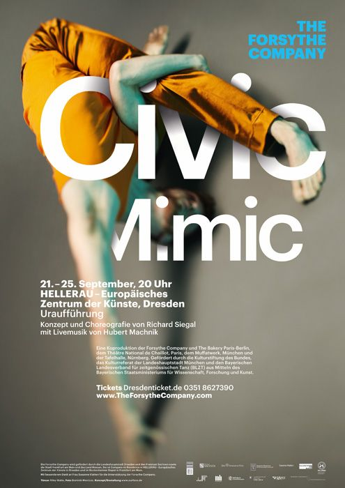 The Forsythe Company poster by Dominik Meantzos