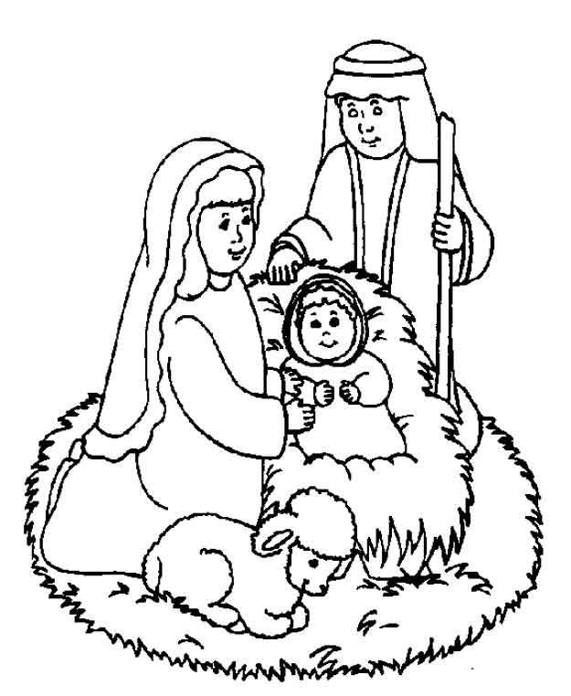 Jozef, Maria en het kindje Jezus