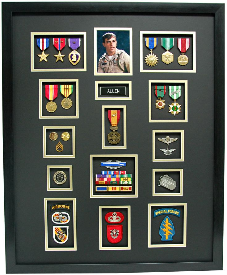 231 Best Military Medal Displays Images On Pinterest