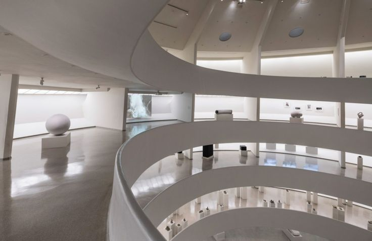 View of the exhibition Peter Fischli David Weiss: How to Work Better at the Solomon R. Guggenheim Museum in New York