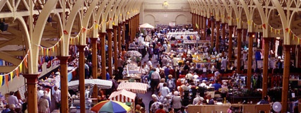 Barnstaple Pannier Market in North Devon. There was so much to see I had to content myself with a few items but really everything one could imagine is there!