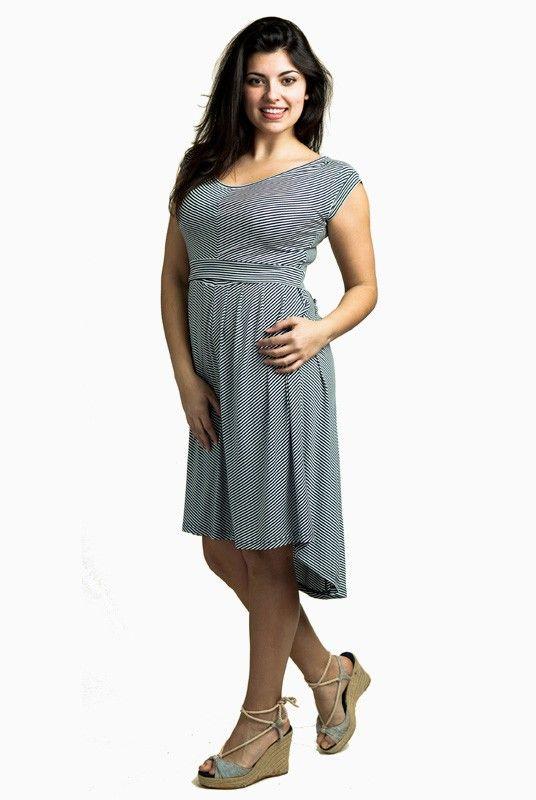 Vestido lactancia y embarazo Antonella - Tetatet - Camisetas de Lactancia y Vestidos de Lactancia